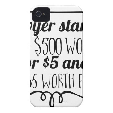Lawyer Themed A lawyer starts life giving $500 worth of law for iPhone 4 case