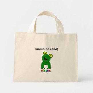A Leap of Faith Personalised Child's Mini Shopper Mini Tote Bag