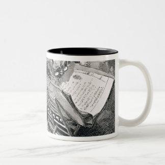 A Learned Man Absorbed in the Koran Two-Tone Coffee Mug