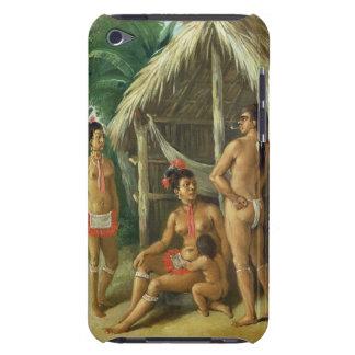 A Leeward Islands Carib Family outside a Hut, c.17 iPod Touch Case-Mate Case
