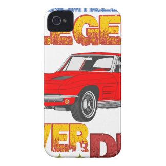 A_Legend_Never_Dies_(Vette S.R.) iPhone 4 Case-Mate Case