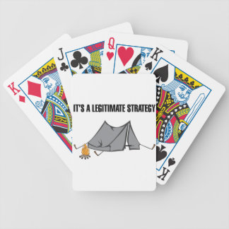 A Legitimate Strategy Bicycle Playing Cards