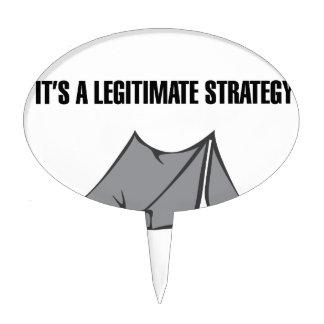 A Legitimate Strategy Cake Topper