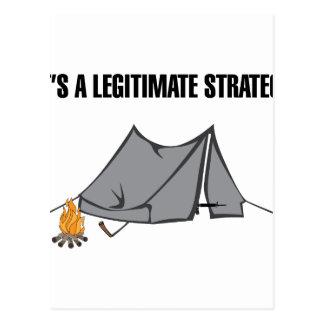 A Legitimate Strategy Postcard