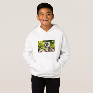 a  lemur on  Kids' Fleece Pullover Hoodie