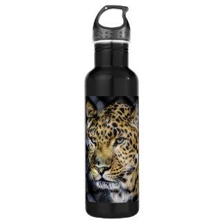 A Leopard's Eyes 24oz Water Bottle