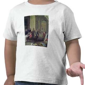 A Lesson being given to the Young Louis XV Tees