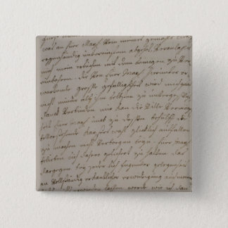 A letter from Maria Theresa to King Frederick Button
