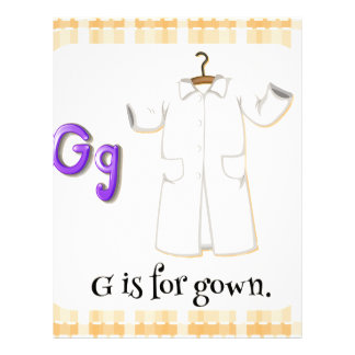 A Letter G for Gown Letterhead
