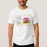 A letter H for house Tees