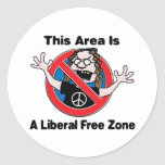 A Liberal Free Zone Sticker