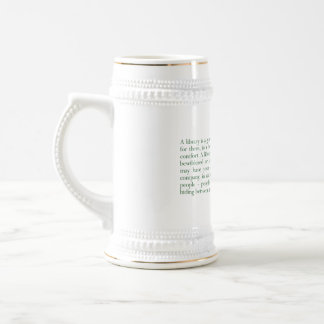 A Library Is A Good Place... (E.B. White) Coffee Mugs