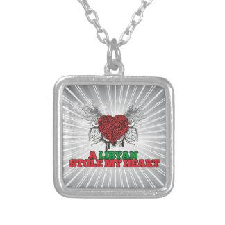 A Libyan Stole my Heart Necklace