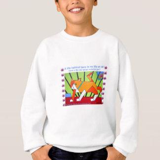 A life behind bars is no life at all...adopt sweatshirt
