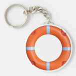A life buoy for safety at sea key chains