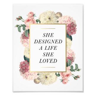 A Life She Loved | Art Print