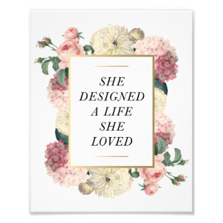 A Life She Loved | Art Print Photo Print