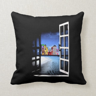 A Life With a View Throw Pillow