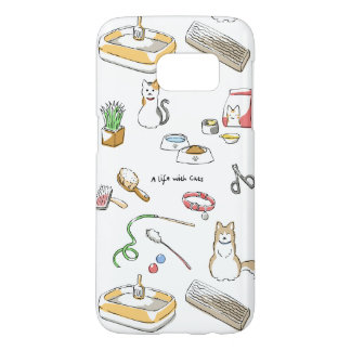 A life with Cats Samsung Galaxy S7 Case