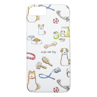 A life with Dogs iPhone 7 Case