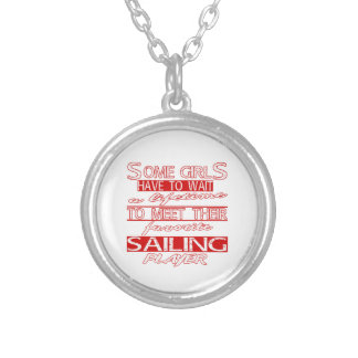 A lifetime to meet their favorite Sailing. Custom Necklace