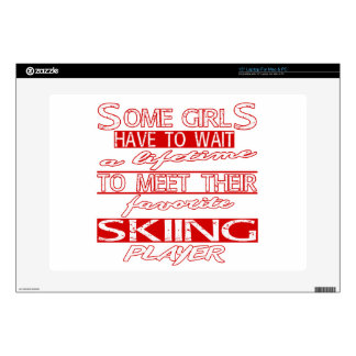 """A lifetime to meet their favorite Skiing. Skin For 15"""" Laptop"""
