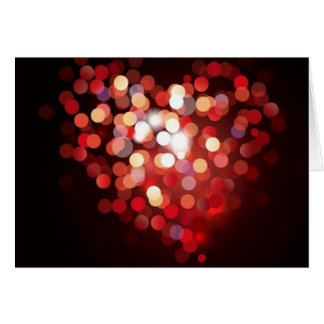 A light heart for Valentine - Card