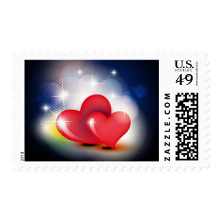 A light heart for Valentine - Postage