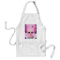 cupcake, sugar, fueled, sugarfueled, michael, banks, coallus, sprinkles, pink, rainbow, heart, icing, Apron with custom graphic design