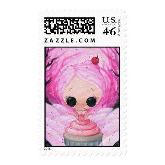 A light Sprinkle Postage Stamps