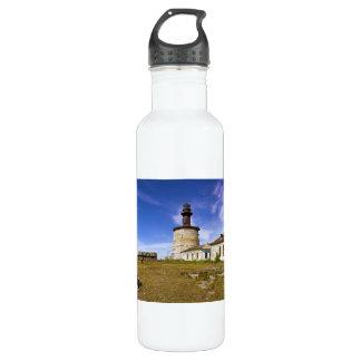 A lighthouse on the islet of Keri, Estonia 24oz Water Bottle