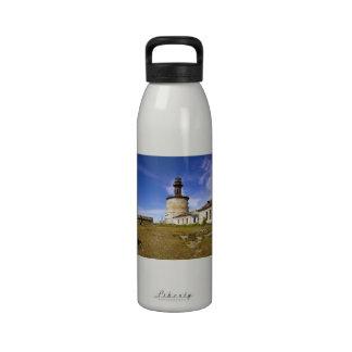 A lighthouse on the islet of Keri, Estonia Water Bottles