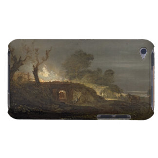 A Lime Kiln at Coalbrookdale, c.1797 (oil on panel Barely There iPod Cover