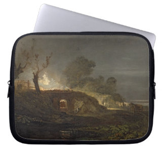 A Lime Kiln at Coalbrookdale, c.1797 (oil on panel Computer Sleeve