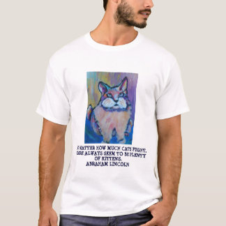 A. LINCOLN FUNNY   QUOTE - T-SHIRT