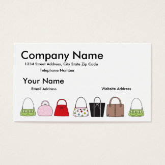 A Line of Purses Business Card
