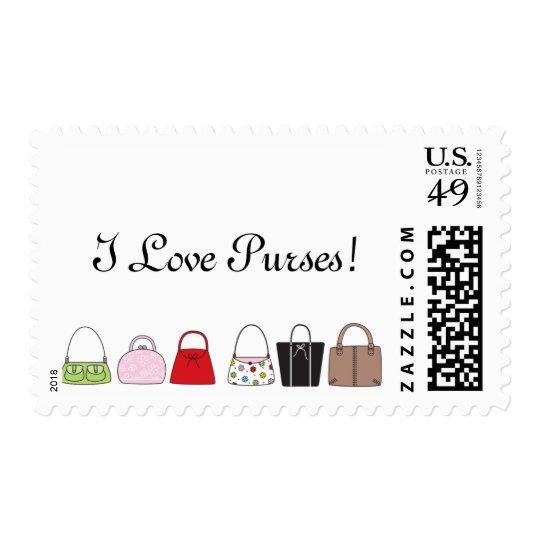A Line of Purses - I Love Purses! Postage
