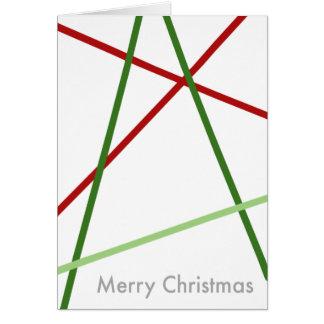 A Linear Christmas Card