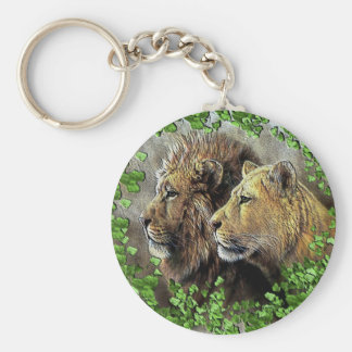 A Lion Affair Keychain