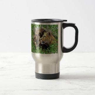 A Lion Affair Travel Mug
