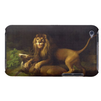 A Lion Attacking a Stag, c.1765 (oil on canvas) iPod Touch Cases
