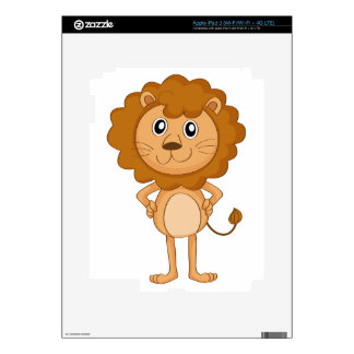 a lion decal for iPad 3