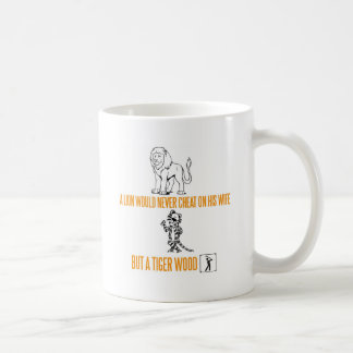 A Lion Would Never Cheat On His Wife Coffee Mug