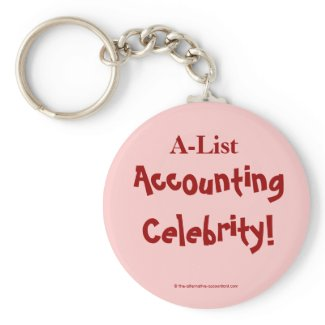 Accounting keychain