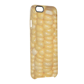 A Listening Ear Humorous Funny Corn Pun Clear iPhone 6/6S Case