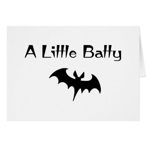 A Little Batty Card