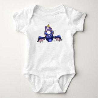 a little Batty - Halloween baby bodysuit