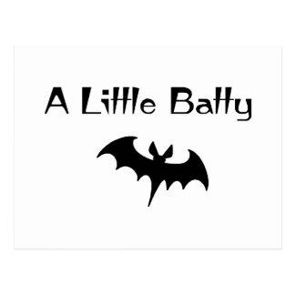 A Little Batty Postcard