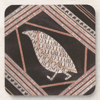 A Little Bird Told Me Coaster