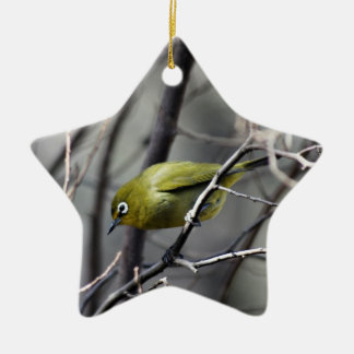 A little Bird Whispered In My Ear Ceramic Ornament